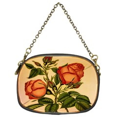Vintage Flowers Floral Chain Purses (one Side)  by Celenk