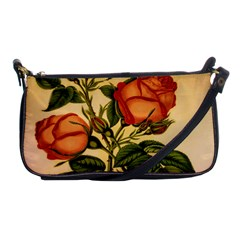 Vintage Flowers Floral Shoulder Clutch Bags by Celenk