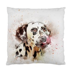Dog Portrait Pet Art Abstract Standard Cushion Case (two Sides)