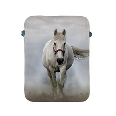 Horse Mammal White Horse Animal Apple Ipad 2/3/4 Protective Soft Cases by Celenk