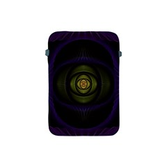 Fractal Blue Eye Fantasy 3d Apple Ipad Mini Protective Soft Cases