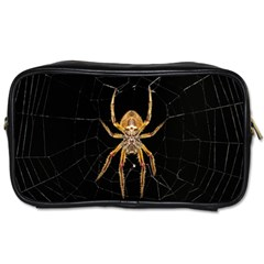 Nsect Macro Spider Colombia Toiletries Bags by Celenk