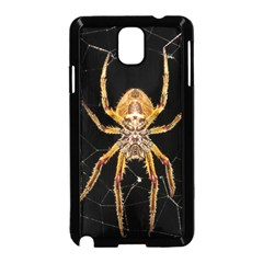 Nsect Macro Spider Colombia Samsung Galaxy Note 3 Neo Hardshell Case (black) by Celenk