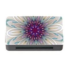 Mandala Kaleidoscope Ornament Memory Card Reader With Cf by Celenk