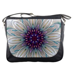 Mandala Kaleidoscope Ornament Messenger Bags