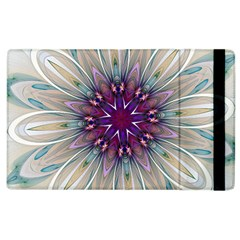 Mandala Kaleidoscope Ornament Apple Ipad 3/4 Flip Case