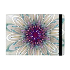 Mandala Kaleidoscope Ornament Apple Ipad Mini Flip Case