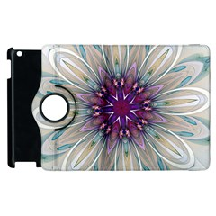 Mandala Kaleidoscope Ornament Apple Ipad 3/4 Flip 360 Case