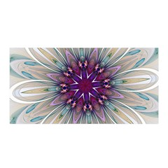 Mandala Kaleidoscope Ornament Satin Wrap