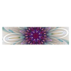 Mandala Kaleidoscope Ornament Satin Scarf (oblong) by Celenk