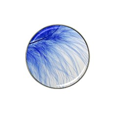 Spring Blue Colored Hat Clip Ball Marker (4 Pack)