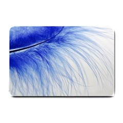 Spring Blue Colored Small Doormat