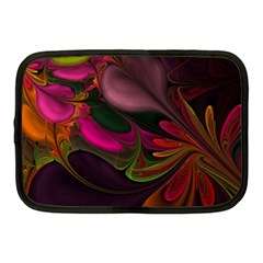 Fractal Abstract Colorful Floral Netbook Case (medium)  by Celenk