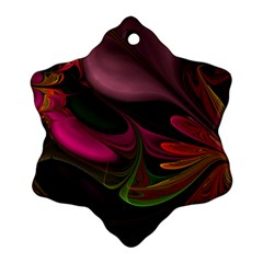 Fractal Abstract Colorful Floral Ornament (snowflake) by Celenk