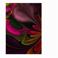 Fractal Abstract Colorful Floral Large Garden Flag (two Sides)