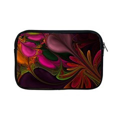 Fractal Abstract Colorful Floral Apple Ipad Mini Zipper Cases