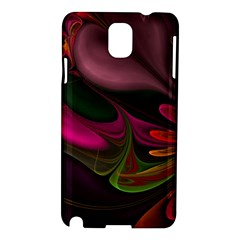 Fractal Abstract Colorful Floral Samsung Galaxy Note 3 N9005 Hardshell Case