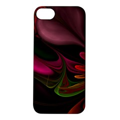 Fractal Abstract Colorful Floral Apple Iphone 5s/ Se Hardshell Case