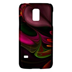 Fractal Abstract Colorful Floral Galaxy S5 Mini