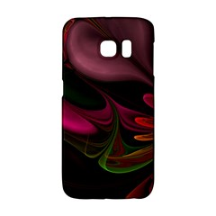 Fractal Abstract Colorful Floral Galaxy S6 Edge by Celenk