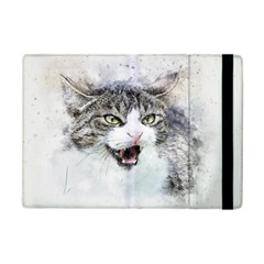 Cat Pet Art Abstract Watercolor Ipad Mini 2 Flip Cases