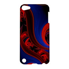 Fractal Abstract Pattern Circles Apple Ipod Touch 5 Hardshell Case by Celenk