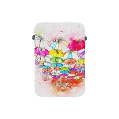Umbrella Art Abstract Watercolor Apple Ipad Mini Protective Soft Cases by Celenk