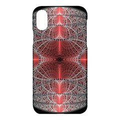 Fractal Diamond Circle Pattern Apple Iphone X Hardshell Case by Celenk