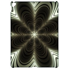 Fractal Silver Waves Texture Apple Ipad Pro 12 9   Hardshell Case by Celenk