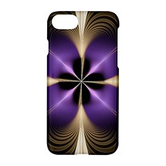 Fractal Glow Flowing Fantasy Apple Iphone 7 Hardshell Case by Celenk