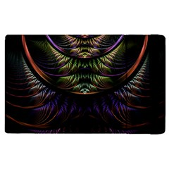 Fractal Colorful Pattern Fantasy Apple Ipad Pro 12 9   Flip Case