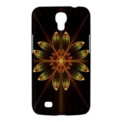 Fractal Floral Mandala Abstract Samsung Galaxy Mega 6 3  I9200 Hardshell Case by Celenk