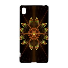 Fractal Floral Mandala Abstract Sony Xperia Z3+ by Celenk
