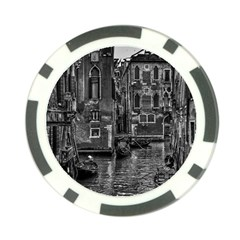 Venice Italy Gondola Boat Canal Poker Chip Card Guard by Celenk