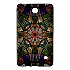 Fractal Detail Elements Pattern Samsung Galaxy Tab 4 (7 ) Hardshell Case  by Celenk