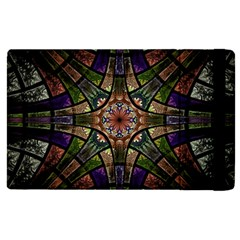 Fractal Detail Elements Pattern Apple Ipad Pro 12 9   Flip Case