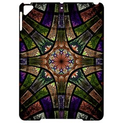 Fractal Detail Elements Pattern Apple Ipad Pro 9 7   Hardshell Case by Celenk