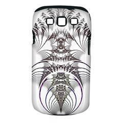 Fractal Delicate Intricate Samsung Galaxy S Iii Classic Hardshell Case (pc+silicone) by Celenk