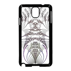 Fractal Delicate Intricate Samsung Galaxy Note 3 Neo Hardshell Case (black)