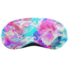 Background Art Abstract Watercolor Sleeping Masks