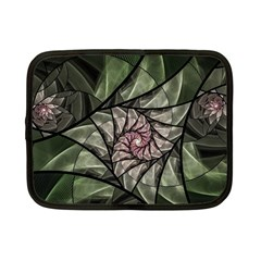 Fractal Flowers Floral Fractal Art Netbook Case (small)