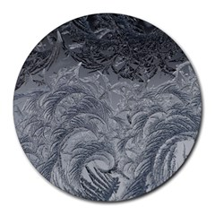 Abstract Art Decoration Design Round Mousepads by Celenk