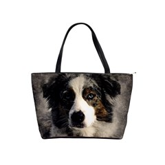 Dog Pet Art Abstract Vintage Shoulder Handbags by Celenk