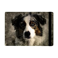 Dog Pet Art Abstract Vintage Apple Ipad Mini Flip Case by Celenk