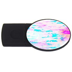 Background Art Abstract Watercolor Usb Flash Drive Oval (2 Gb) by Celenk
