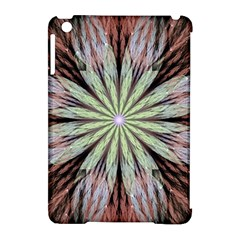 Fractal Floral Fantasy Flower Apple Ipad Mini Hardshell Case (compatible With Smart Cover) by Celenk