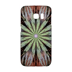Fractal Floral Fantasy Flower Galaxy S6 Edge by Celenk