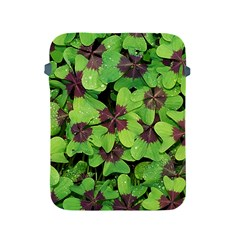 Luck Klee Lucky Clover Vierblattrig Apple Ipad 2/3/4 Protective Soft Cases