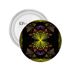Fractal Multi Color Geometry 2 25  Buttons by Celenk