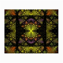 Fractal Multi Color Geometry Small Glasses Cloth (2 Side)